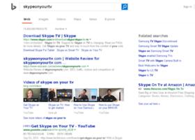 skypeonyourtv.com