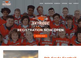 skyridgeyouthfootball.org