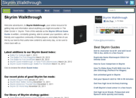skyrimwalkthrough.net