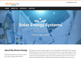skystreamenergy.com