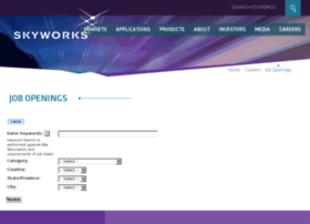 skyworksinc.apply2jobs.com