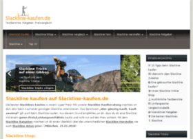 slackline-kaufen.de