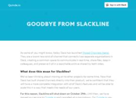 slackline.io