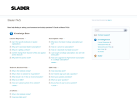 slader.uservoice.com