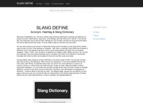 slangdefine.com