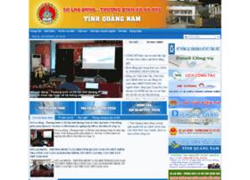 sldtbxh.quangnam.gov.vn