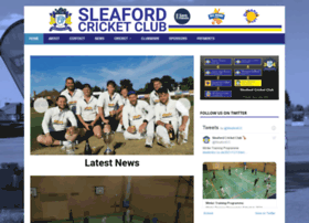 sleafordcc.co.uk