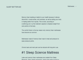 sleepbetteraid.com
