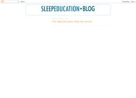 sleepeducation.blogspot.com