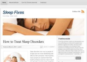 sleepfixes.com
