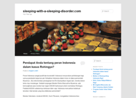 sleeping-with-a-sleeping-disorder.com
