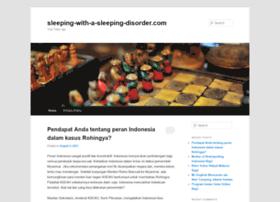 sleeping-with-a-sleeping-disorder.com