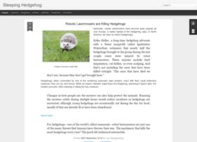 sleepinghedgehog.com