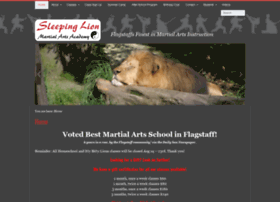 sleepinglionmartialarts.com