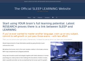 sleeplearning.com