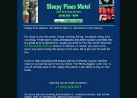 sleepypinesmotel.com
