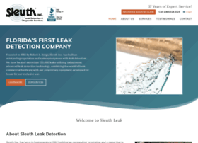 sleuthleakdetection.com