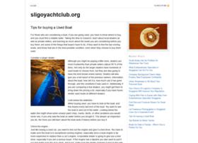 sligoyachtclub.org