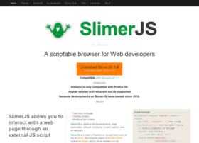 slimerjs.org