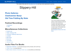 slippery-hill.com