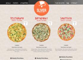 sliverpizzeria.com