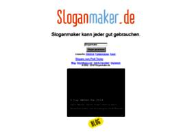 sloganmaker.de