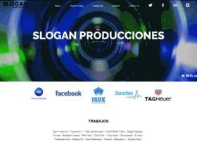 sloganproducciones.com