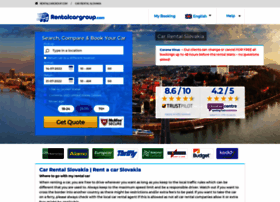 slovakia.rentalcargroup.com
