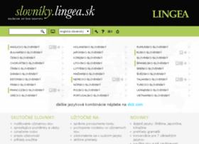 slovnik.lingea.sk