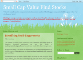 smallcapvaluefind.blogspot.in