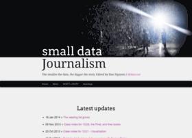 smalldatajournalism.com
