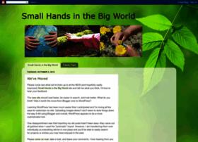 smallhandsbigworld.blogspot.com