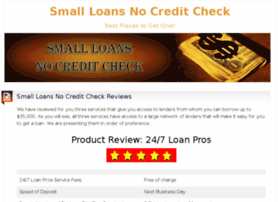 smallloansnocreditcheck.me