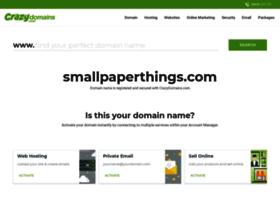 smallpaperthings.com