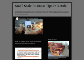 smallscalebusinesstipsinkerala.blogspot.com