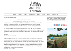 smallthingsarebigthings.com