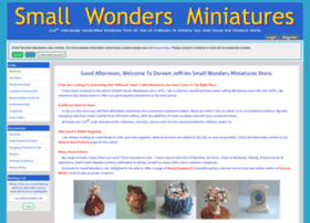smallwondersminiatures.co.uk