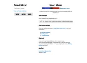 smart-mirror.io