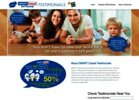 smartcarpettestimonials.com