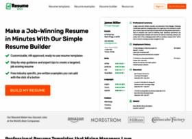 smartresumebuilder.net