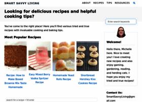 smartsavvyliving.com