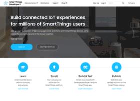 smartthings.developer.samsung.com