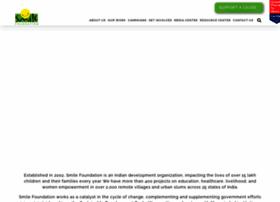 smilefoundationindia.org