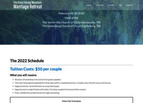 smokymountainmarriage.com