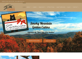 smokymountainsecludedcabin.com