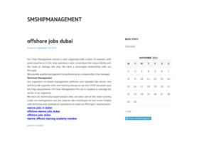 smshipmanagement.wordpress.com