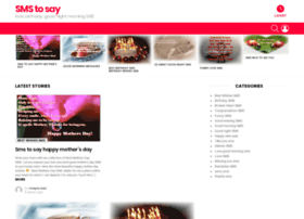 smstosay.com