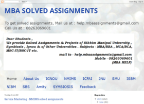 smu-mba-solved-assignments.blogspot.in