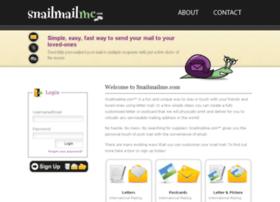 snailmailme.com