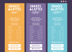 snakesandlattes.com